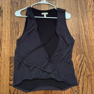 Gray tank top. Worn once.